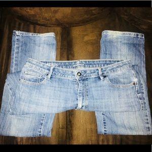 Liz Claiborne City Fit Jeans Sz8T